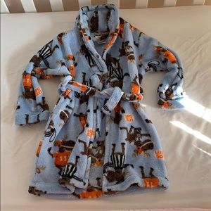 Robe toddler football Moose print